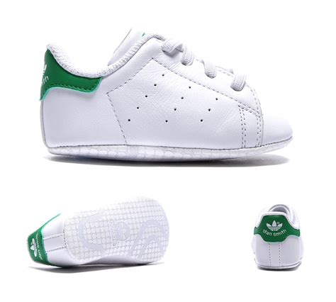 baby crib trainers adidas originals crib stan smith trainer white green