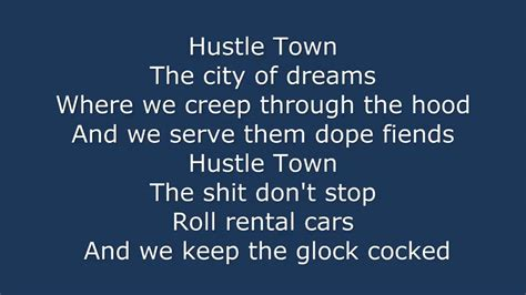 spm hustle town lyrics