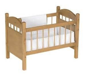 reborn doll crib bed toy furniture newborn baby by rustictoybarn