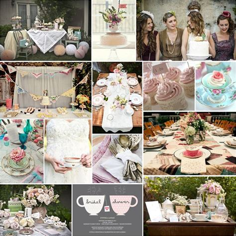Tea Bridal Shower Ideas by Pretty Tea Bridal Shower
