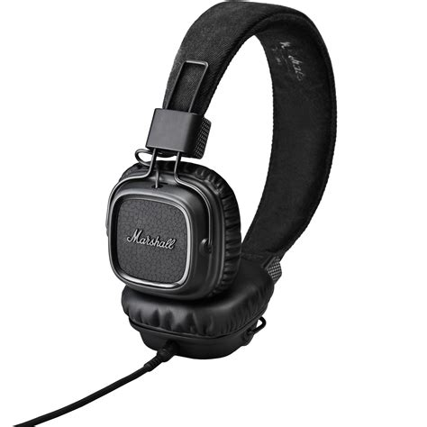 Headset Marshall marshall audio major ii headphones pitch black 4091114 b h