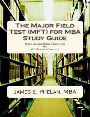 Best Mba Study Guide by The Major Field Test Mft For Mba Study Guide E