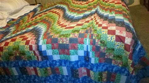 Handcrafted Quilt - handmade finished quilt king ebay