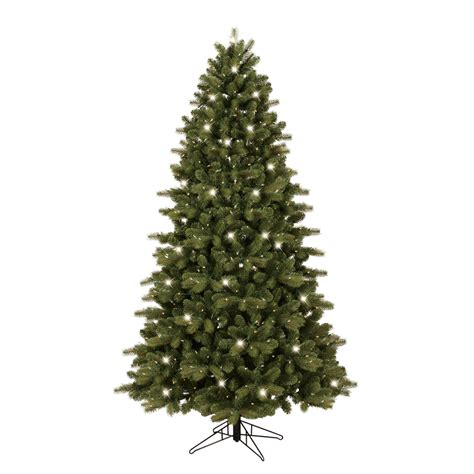 shop ge 7 ft pre lit colorado spruce artificial christmas