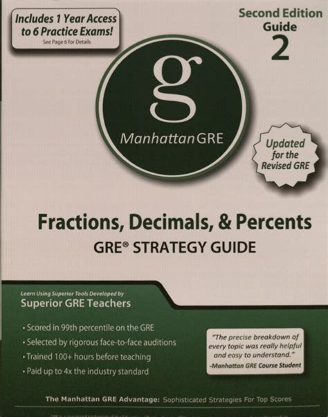 Certified Mba Prep Guide by Manhattan Gmat Preparation Guide Foundations Of Math Pdf