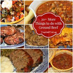 ground beef recipes on pinterest meatloaf recipes