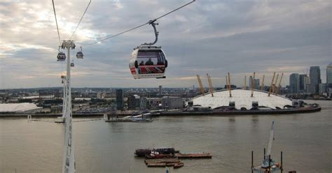 Thames River Valley Cable | jonchoo thames cable car emirates air line