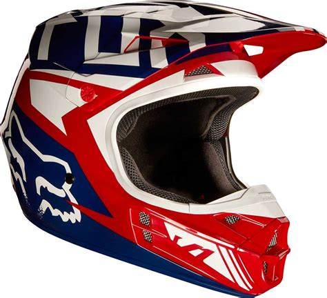 fox tracker motocross 2017 fox racing v1 falcon helmet mx motocross off road