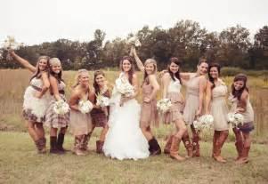 Stylish rustic bridesmaid dress ideas