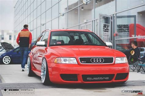 audi rs4 b5 tuning stanced audi rs4 b5 front