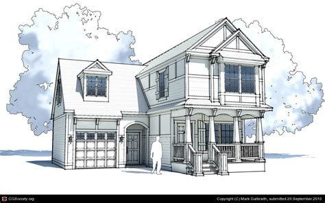 sketchup layout styles download sketchup sketch style by mark galbraith 3d cgsociety