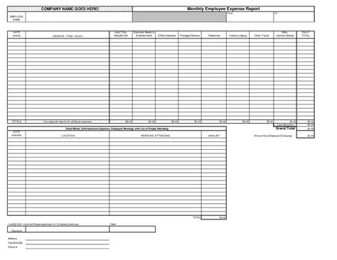 income report template best photos of monthly expense report template excel