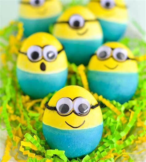 como pegar y decorar huevos de pascua huevos de pascua infantiles para decorar urban mom