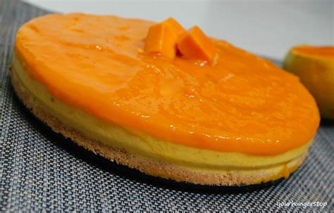 Mango Cheesecake mango cheesecake no bake yourhungerstop