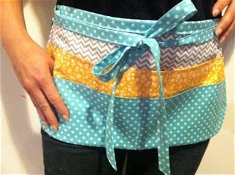 sewing utility apron 8 pocket teacher hairdresser aprons great idea crafts