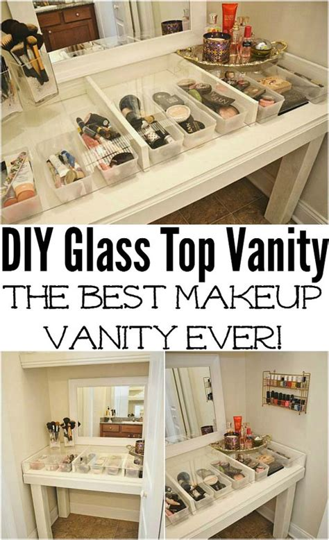 diy your makeup vanity in 16 affordable ways ritely 30 best diy makeup organizing ideas diy projects for