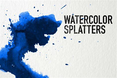 watercolor splash tutorial watercolor splatter texture free design resources