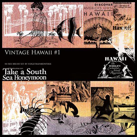 Hawaii Set vintage hawaii set 1 brushes for photoshop