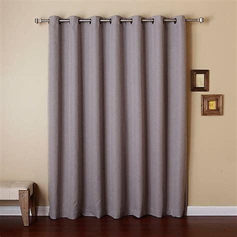 wide width grommet curtains buy decorinnovation wide width 84 inch grommet top room
