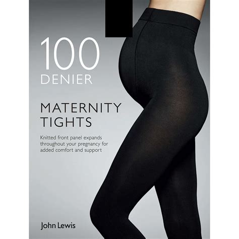 lewis 100 denier opaque maternity tights black at
