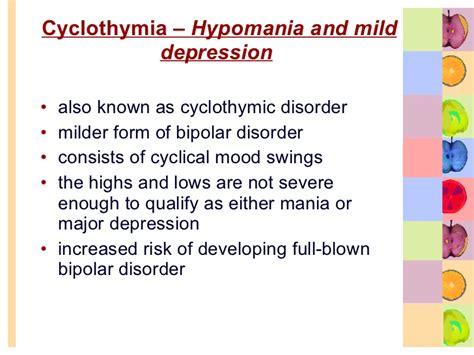 cyclical mood swings bipolar disorder