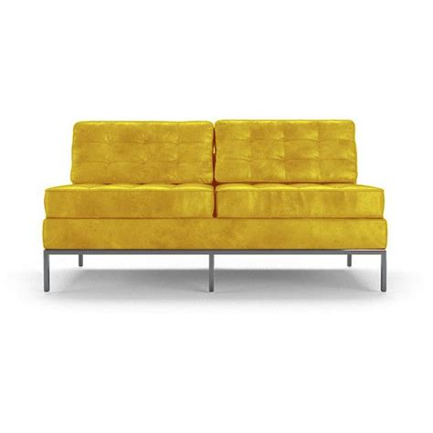 25 best ideas about yellow leather sofas on