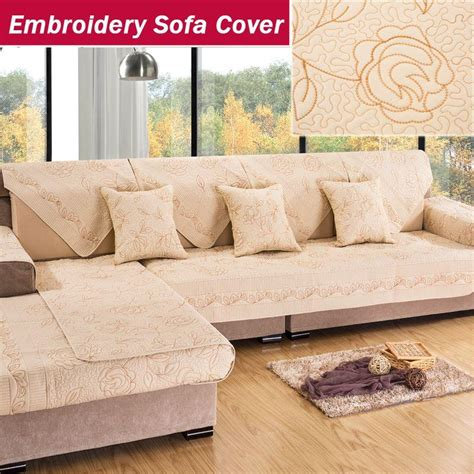 couch cusion covers embroidery sofa cover blanket towel mat couch cushion