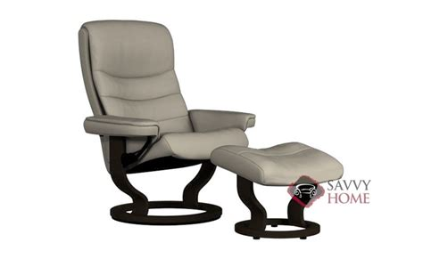 nordic recliner nordic leather chair by stressless is fully customizable