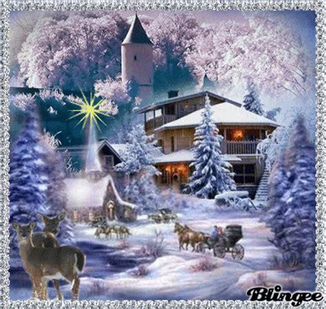 imagenes virtuales movimiento d navidsd gifs navide 241 os paisajes nevados navide 241 os