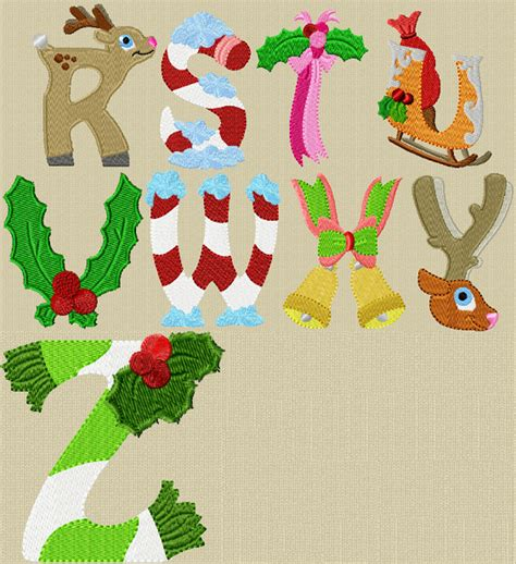printable alphabet letters christmas alphabet christmas