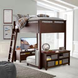 bed lofts hton convertible loft bed pbteen