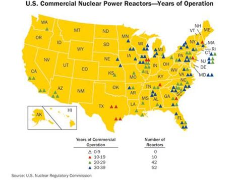 nuclear power plants in california map nuclear power plants in california
