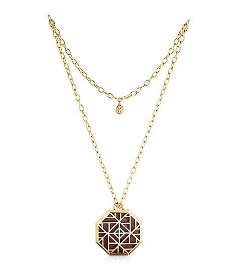 burch burch solid perfume pendant necklace