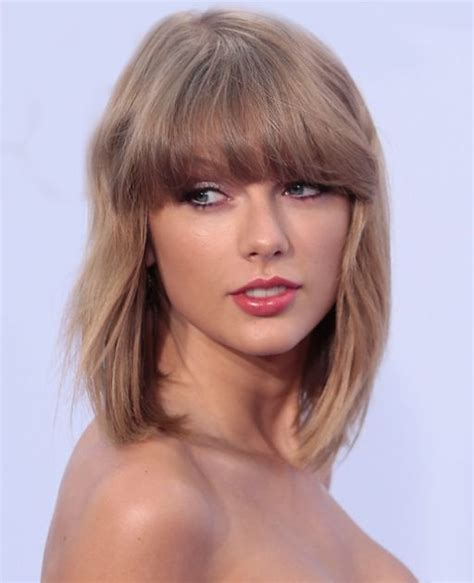 taylor swift 2015 short haircut back view the gallery for gt shoulder length hairstyles selena gomez