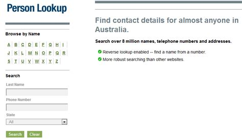 Phone Search Australia How To Stalk Find In Australia How To Find Someone S Name Address And