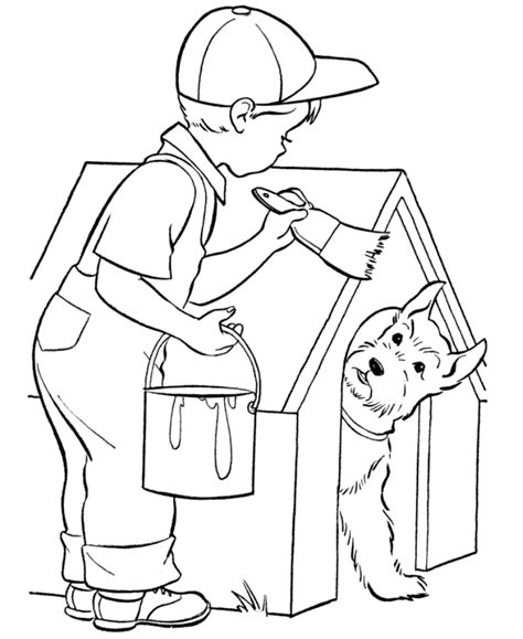 Painting Pages Az Coloring Pages Paint Coloring Pages
