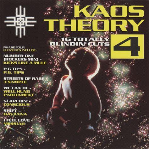 Kaos The 4 various kaos theory 4 cd at discogs