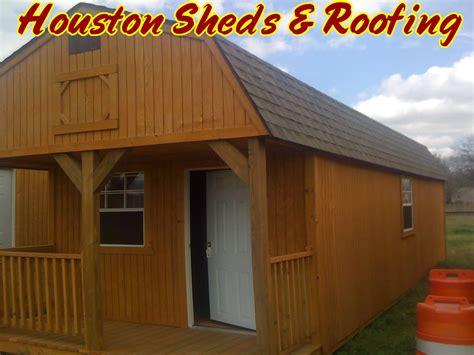 sheds patios roofing repair barns humble tx