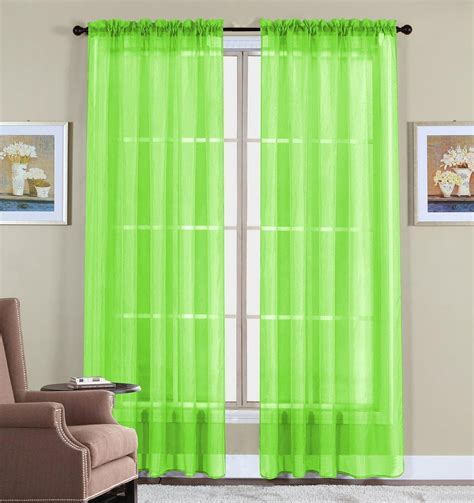 lime green window curtains green window curtain panels on sale ease bedding with style