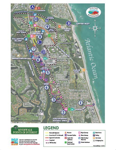 riverwalk map jupiter fl official website riverwalk map points of interest