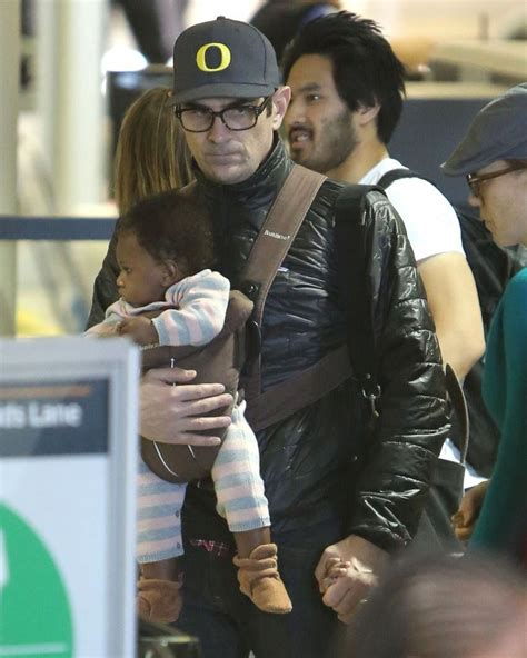 ty burrell and family ty burrell and family departing on a flight at lax 4 of 24