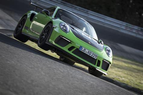 Porsche Marke by Sportwagen Porsche 911 Gt3 Rs Unterbietet Sieben Minuten