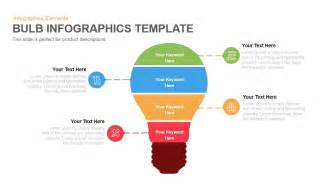 infographics templates for powerpoint bulb infographics template powerpoint and keynote template