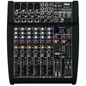 scheda audio 8 ingressi mmx 842usb mixer audio a 6 canali con 8 ingressi unit 224