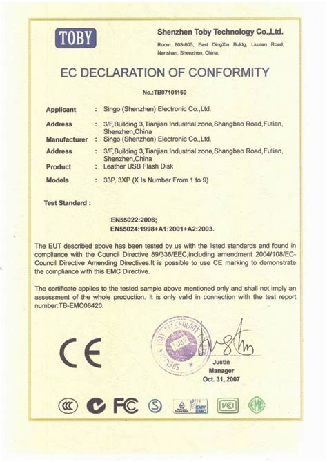 ec declaration of conformity template affirmation of conformity pictures to pin on