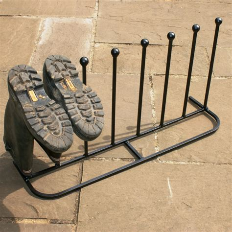 poppy forge 4 pair boot stand wellington boot stand