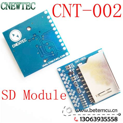 integrated circuit memory cards 5v 3 3v compatible sd card module slot socket reader for arm mcu read and write cnt 002