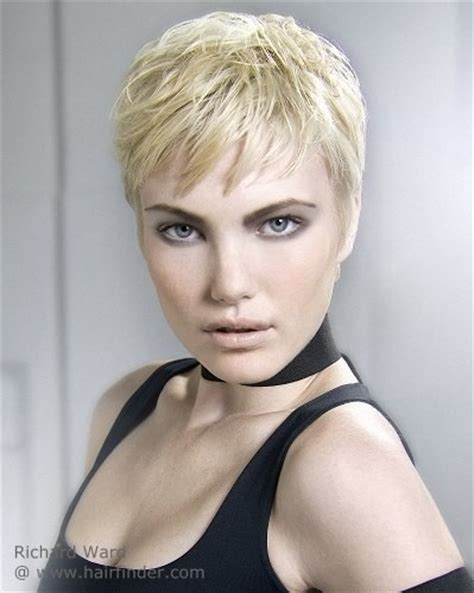 ladies short hair styles cropped short at each side cropped pixie hairstyles