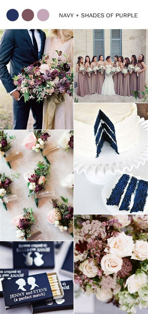 10 Fall Wedding Color Ideas You'll Love for 2017   Purple