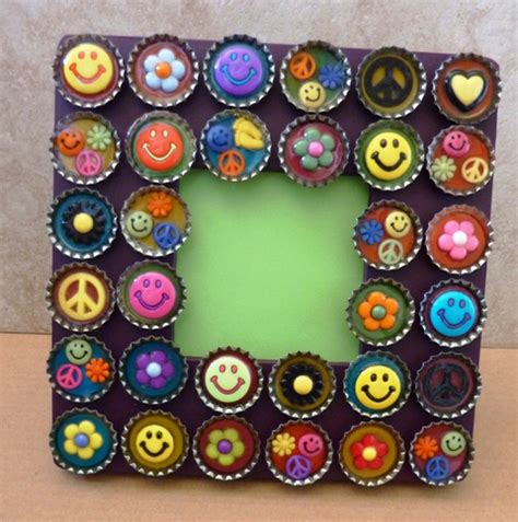 Handmade Arts - handmade photo frame craft project crafts and arts ideas